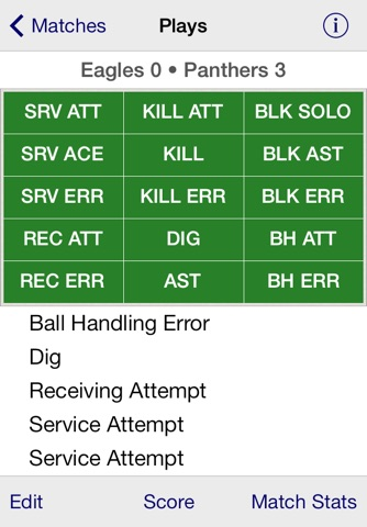 Stat Tap Volleyball screenshot 2