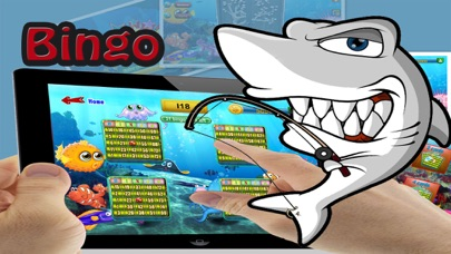 Shark Bingo Party Pro - The Submerged Bingo Bash Partying with the Shark-s!-2