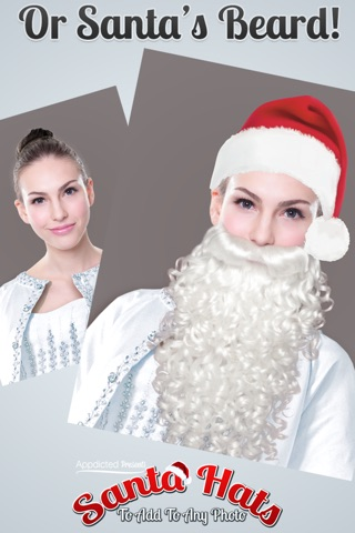 Santa Hats - Virtually add Santa Hats, Beards and Even Santa to your photos screenshot 3