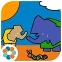 Tembo, el pequeño elefante. Libro interactivo infantil. Juegos de Memoria y Puzzle para niños. Apren icon