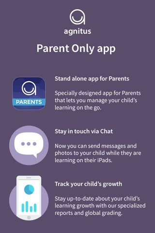 Topiq Messenger for Parents: Chat & Track Child's Performance screenshot 1