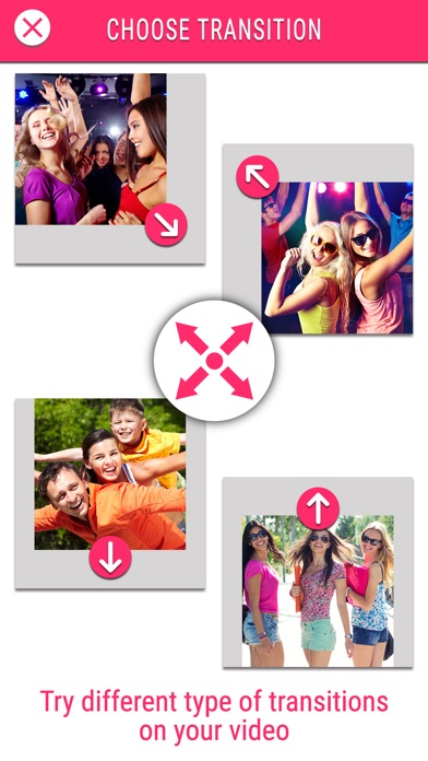 Screenshots of Video Maker Free - Create Video Slide show for FREE for iPhone
