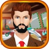 Crazy David's Celebrity Beard Shaving Salon,  Dress up & Beard Booth games for girls