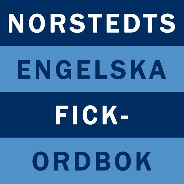 Norstedts engelska fickordbok på App Store