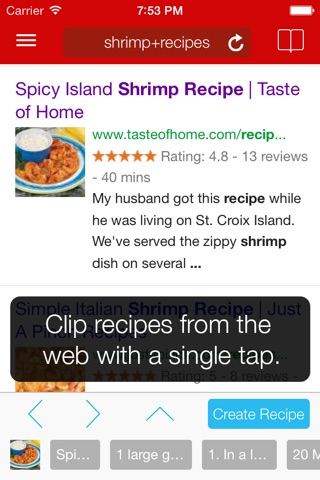Paprika Recipe Manager for iPhone screenshot 2