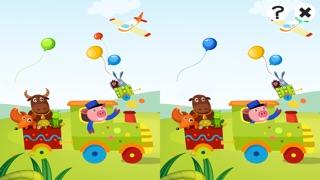 Actif! Jeu Pour Les Enfants À Apprendre et À Jouer Avec la Gare et AnimauxCapture d'écran de 4