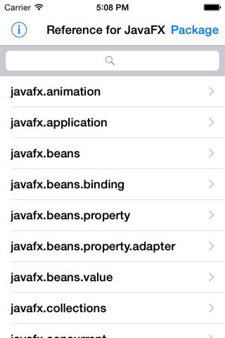 Reference for JavaFX 8 screenshot 2