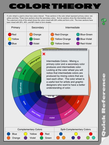 Color Theory Quick Reference screenshot 2