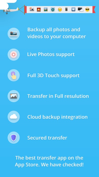 Screenshot #7 for Photo Transfer 3.0 wifi - share and backup your photos and videos