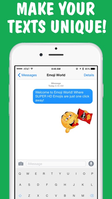 Screenshot for Weed Emojis Keyboard by Emoji World in United States App Store