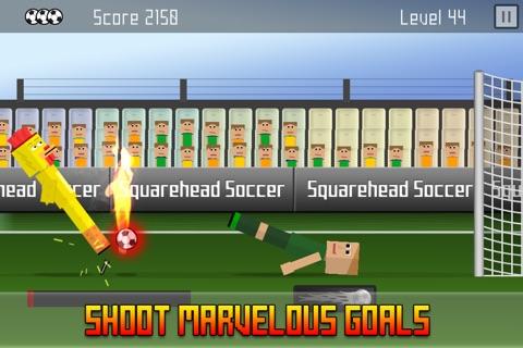Squarehead Soccer - Kickoff screenshot 1