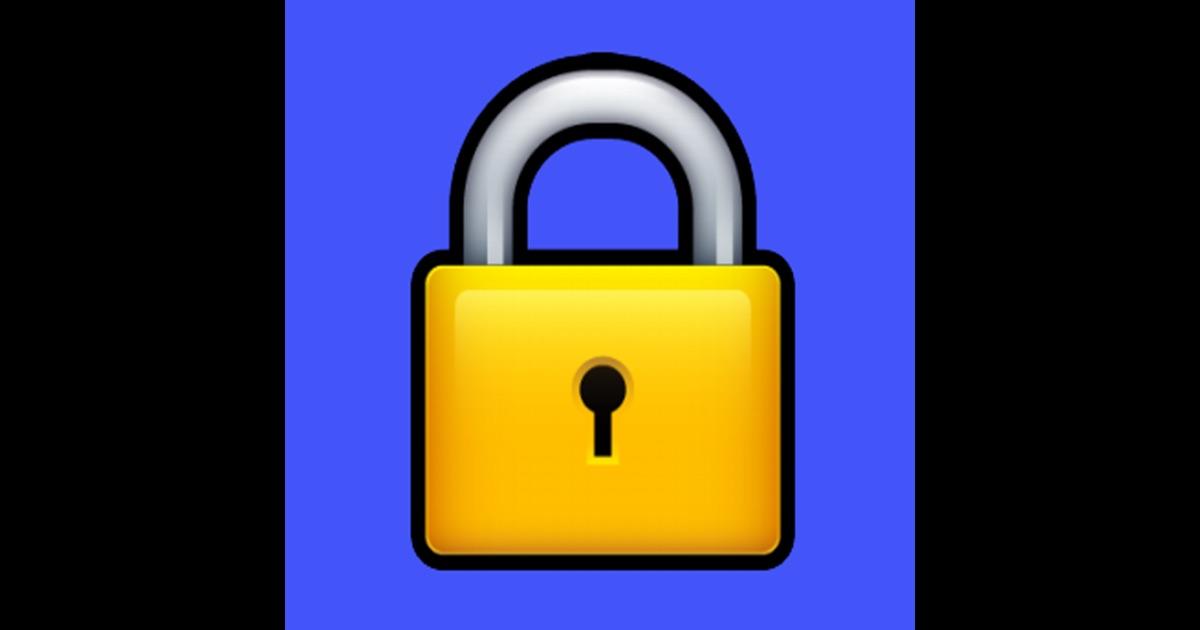 lock it up on the app store. Black Bedroom Furniture Sets. Home Design Ideas
