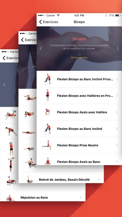 Screenshot Fitness & Musculation