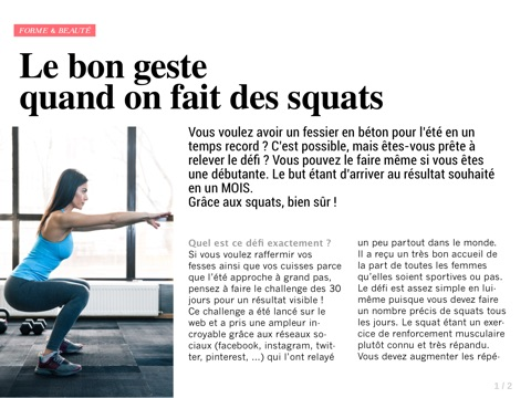 Top Féminin screenshot 4