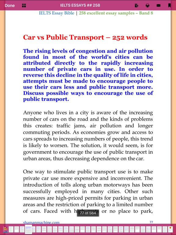 public transportation essay The advantages of public transportation public transportation are well-operated by a specialized company or the government and all drivers and nice essay.