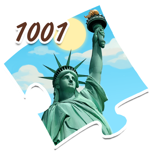 1001 Jigsaw World Tour: American Puzzles