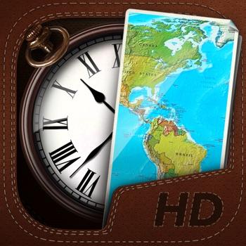 Wereldklok app voor iphone ipad en ipod touch appwereld - Wereld kruk ...