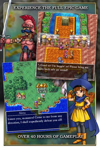DRAGON QUEST IV Chapters of the Chosen screenshot 2