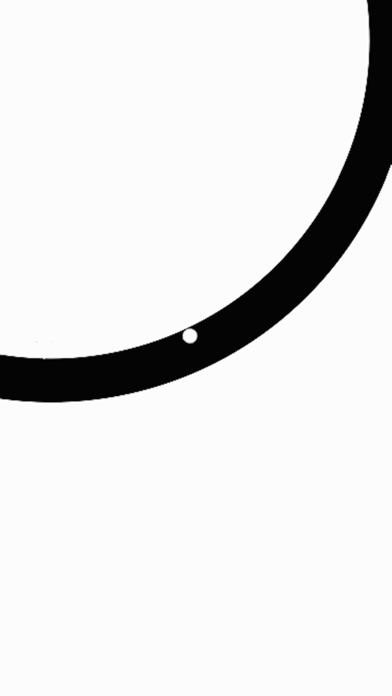 Crossy круг вокруг шарика Screenshot