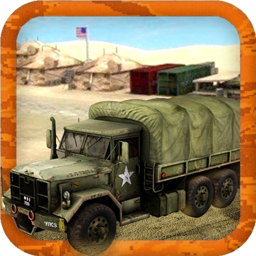 Military Transport Truck 3D iOS App