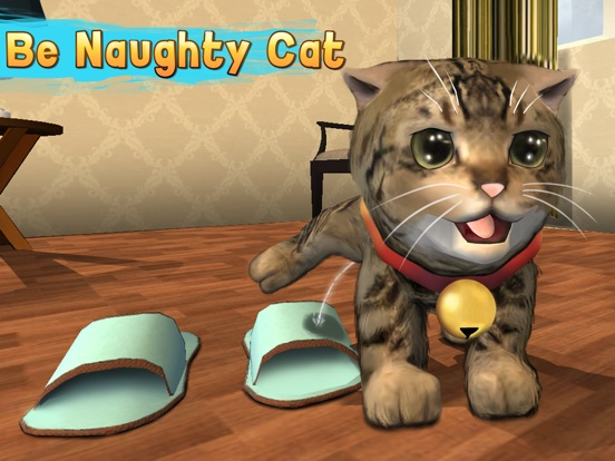 Скачать Cat Simulator: Cute Pet 3D Full - Be a kitten, tease a dog!