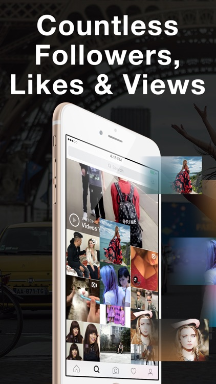 Get 1000 Insta Likes, Followers & Views for Instagram