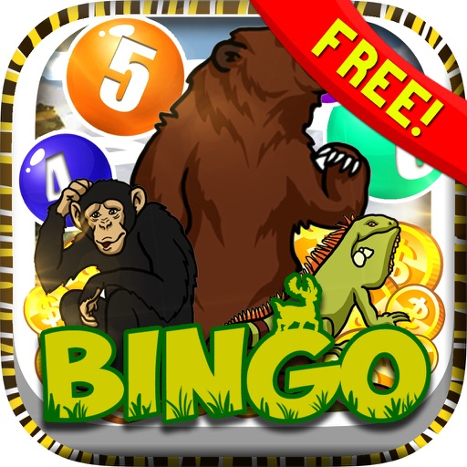 "Bingo Wild Animal "" Casino Vegas Edition "" for Free iOS App"