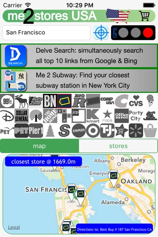 me 2 stores USA shop&retailer screenshot 3