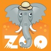Zoo Matcher zoo animals clipart