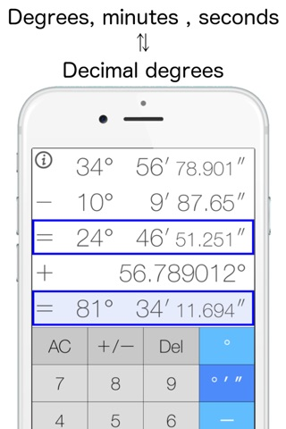 AngleCalculator screenshot 1
