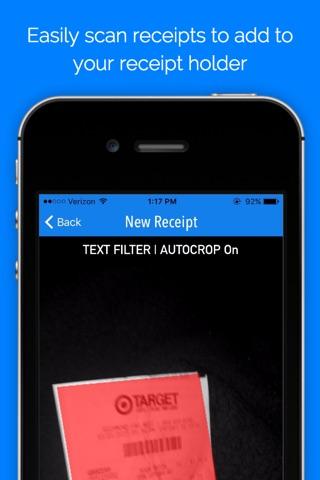 myReceipts - Receipt Organizer screenshot 2