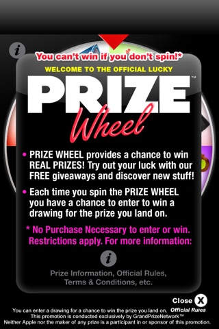 Download Prize Wheel® app for iPhone and iPad