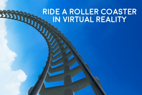 Virtual Reality Roller Coaster for Google Cardboard VR screenshot 1