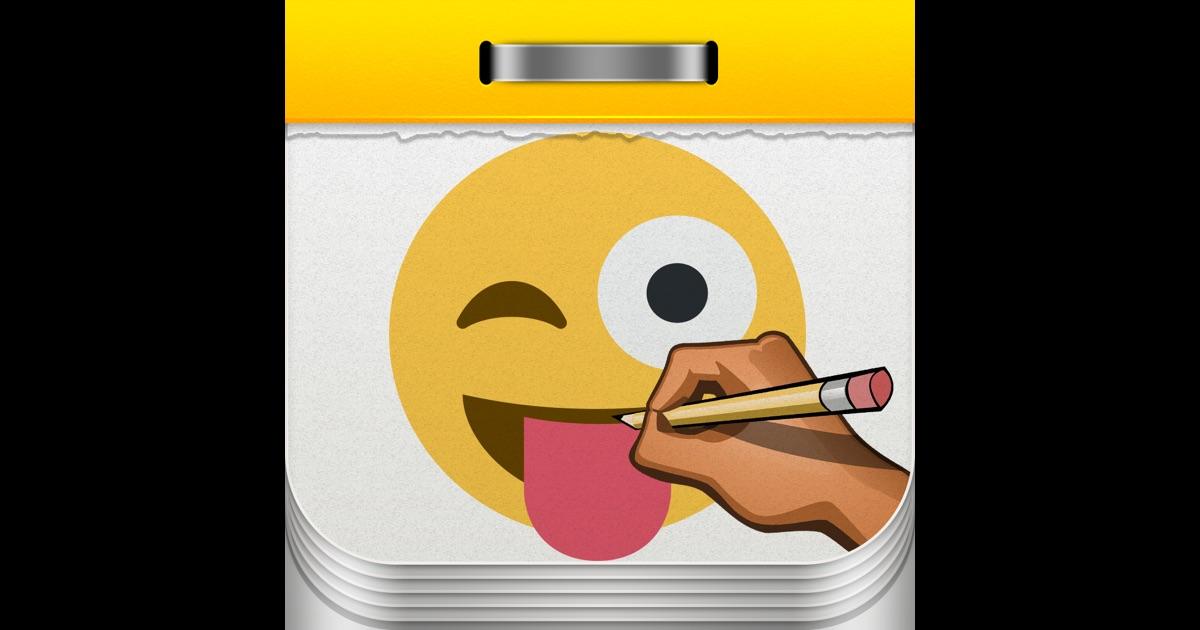 how to draw step by step emojis