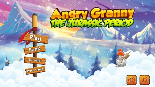 Angry Granny - The Jurassic Period Screenshot