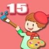 ABC Coloring Book 15 - Rendere il Scence in compleanno Colorful