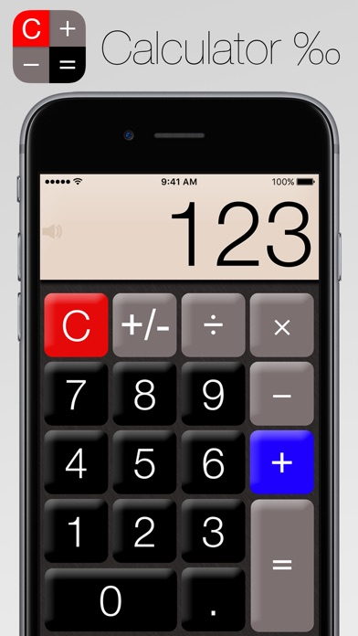 Screenshots of Calculator‰ for iPhone