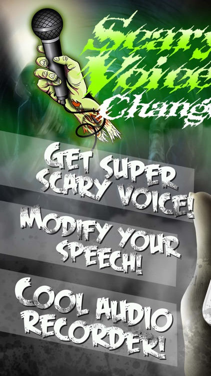 Scary Voice Changer with Effects – Audio Recorder and Horror Sound