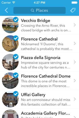 Florence Trip Planner, Travel Guide & Offline City Map screenshot 3