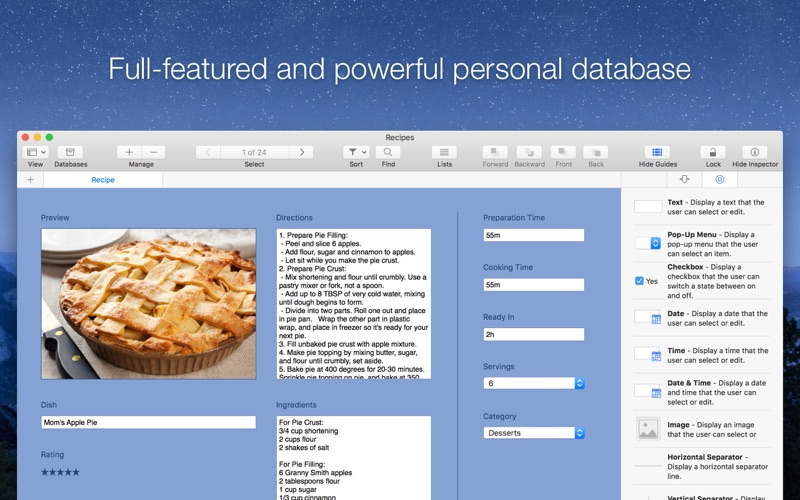 Records - Database & Organizer Screenshot