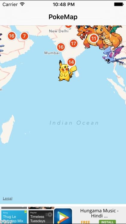 Map for Pokemon Go! by Banty Patel