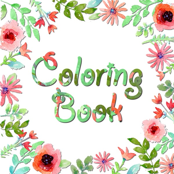 Secret Coloring Book – Free Anxiety Stress Relief & Color