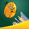 Coloring Me: Healthy Fruit