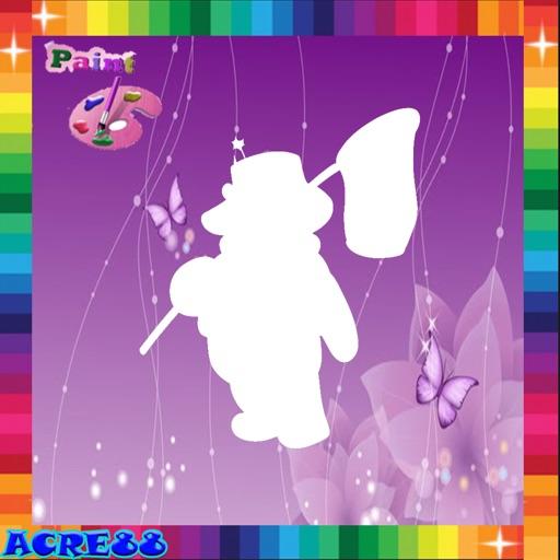 Coloring Page Winnie Pooh Cartoon Edition iOS App