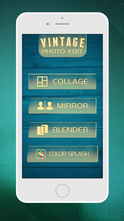 Vintage Photo Editor – Floral Frames, Retro Stickers and Color s