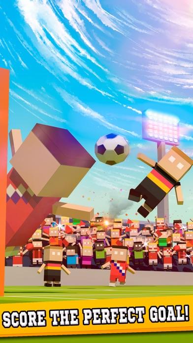 Soccer Hero! - Blocky Penalty Kick Goal Stars 2016 Football Championship Edition Screenshot