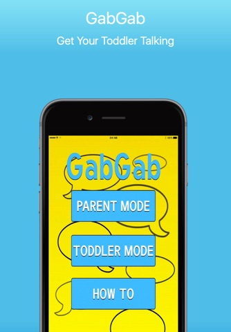 GabGab - Get Your Toddler Talking screenshot 1