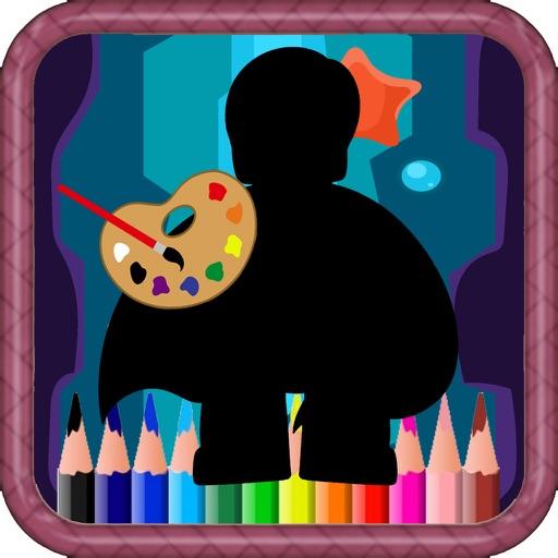 Coloring Book Page Lego Super Saiyan Page Edition iOS App