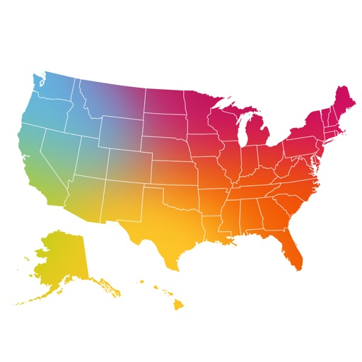 Free U.S. Geography App: Learning Geography of USA is Fun - GeoKids USA Game for Kids - Quiz about United States of America iOS App