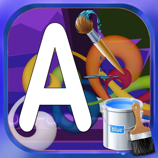 Draw Pages Game abc Edition iOS App